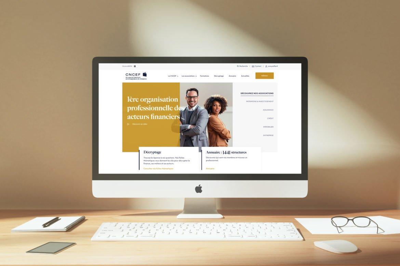 Nouveau site internet Groupe CNCEF