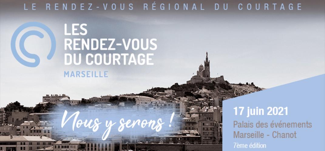 La CNCEF Assurance et la CNCEF Crédit, partenaires de la 7ème édition des Rendez-Vous du Courtage à Marseille le jeudi 17 juin 2021
