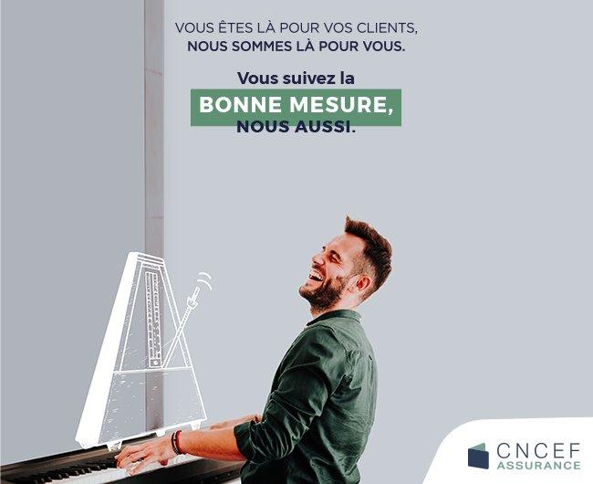 visuel La CNCEF ASSURANCE, l'association professionnelle des courtiers en assurance