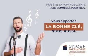CNCEF PATRIMOINE - Conseil d'administration réélu - Stéphane Fantuz